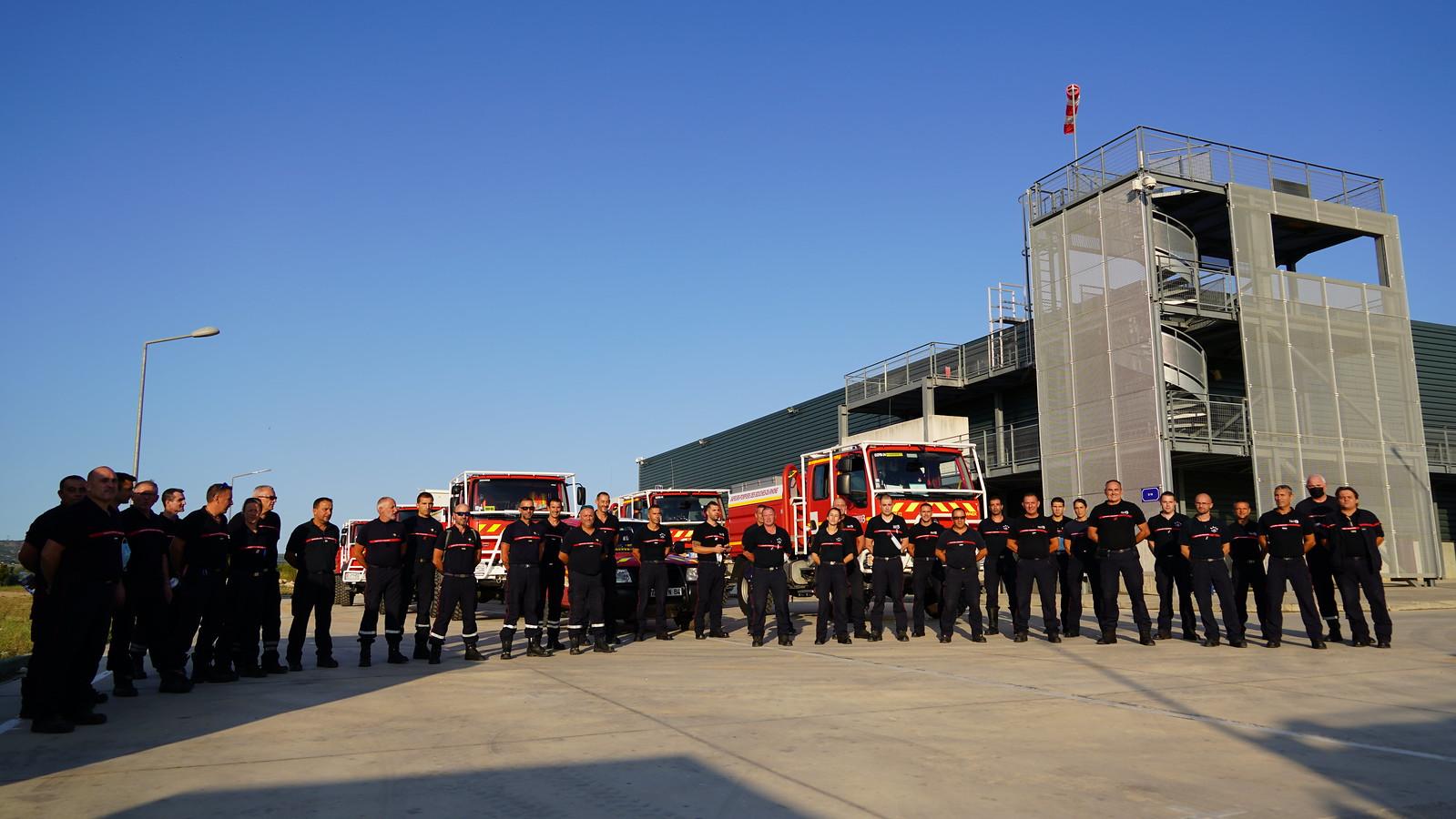 Opérations : l'odyssée grecque pour les Pompiers13