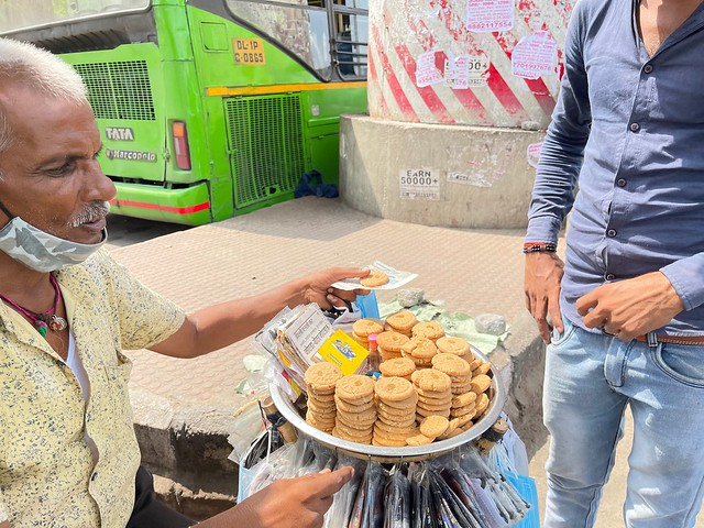 City Food - Barfi with Mask, Dilshad Garden