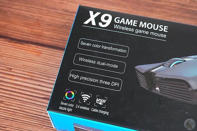 OGORUS X9 無線藍牙靜音滑鼠
