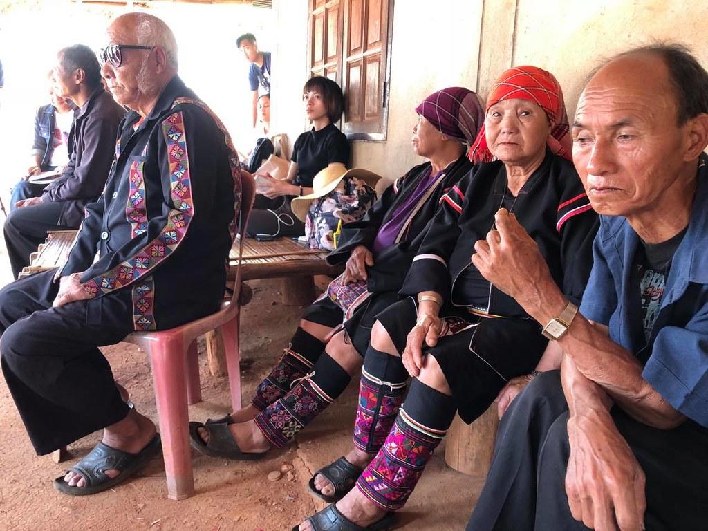 ผู้สูงอายุชาติพันธุ์อาข่า บ้านป่าคาสุขใจ ต.แม่สลองนอก อ.แม่ฟ้าหลวง จ.เชียงราย