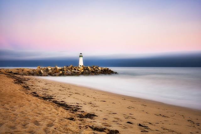 Explored - Walton Lighthouse at sunset