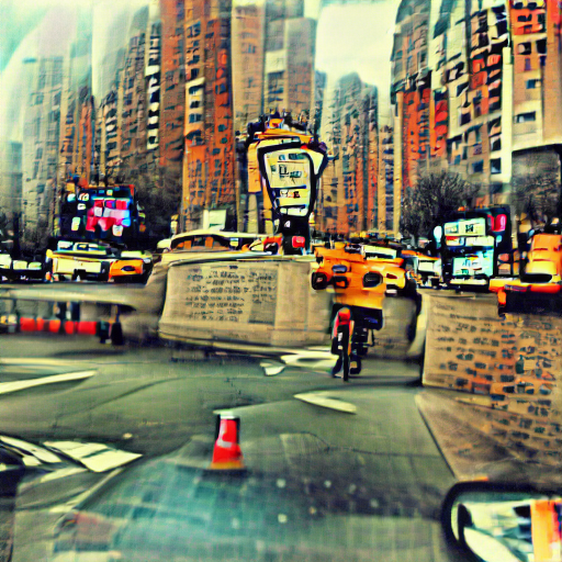 'New York City' Sequential VQGAN+CLIP