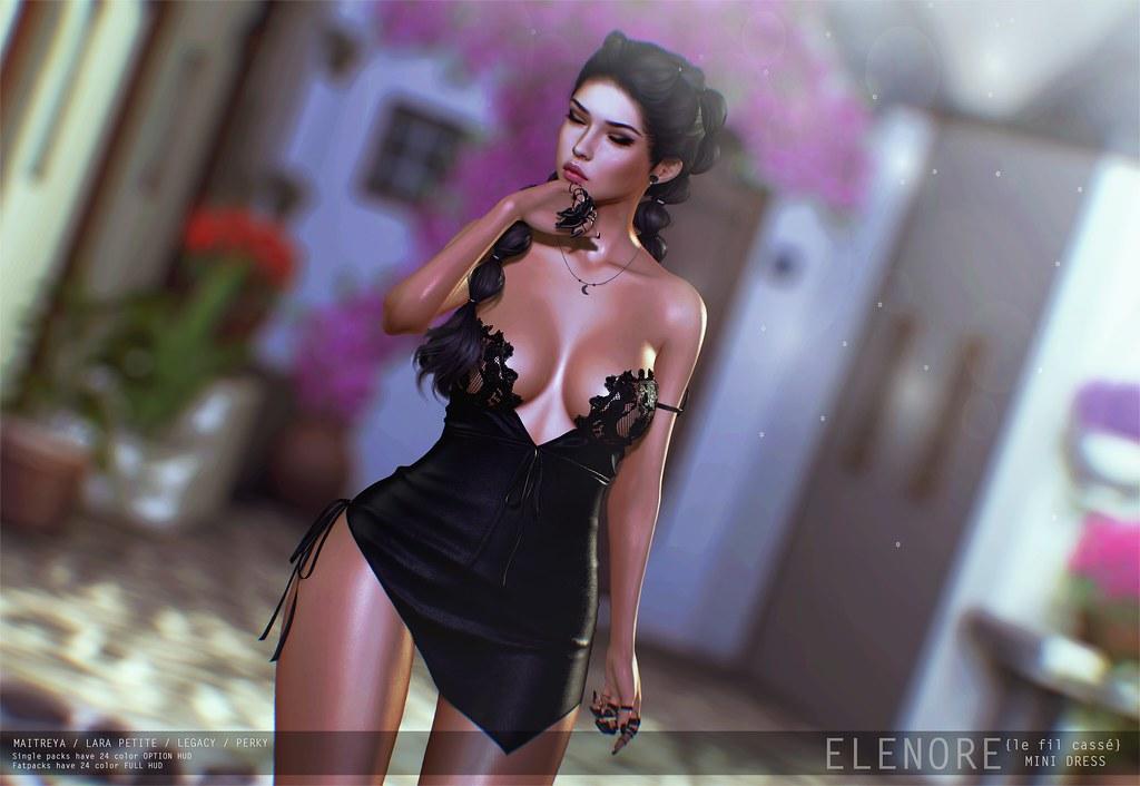 {le fil cassé} Elenore Dress for Collabor88