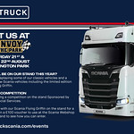 Keltruck Scania at Convoy in the Park 2021