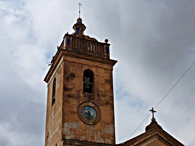 El Campanar de l'església - Nàquera - València