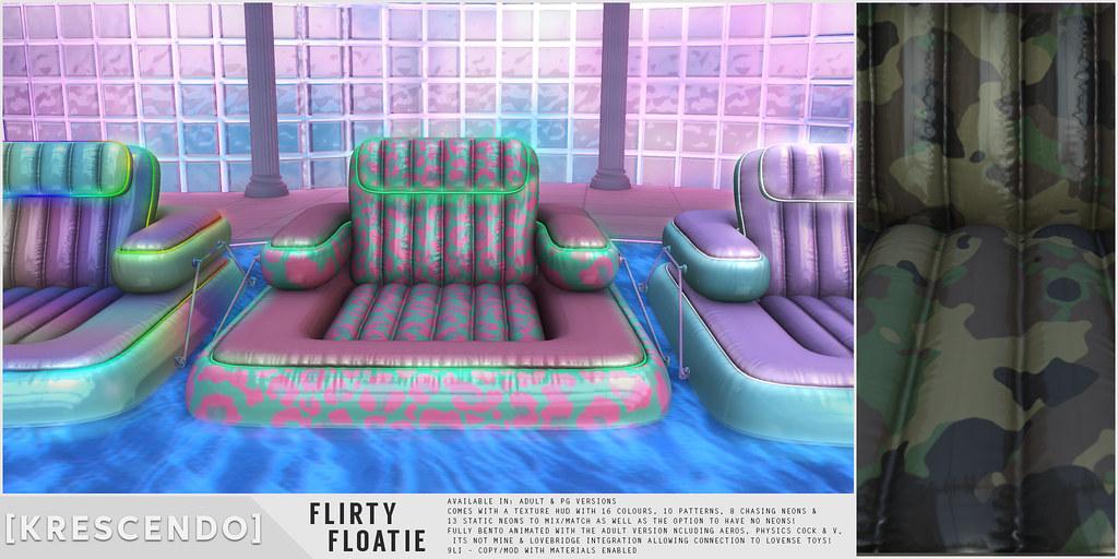 [Kres] Flirty Floatie