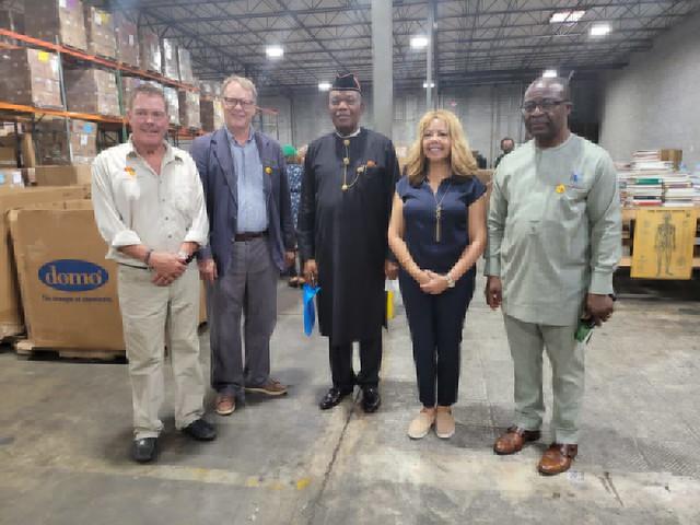 Visit from Akwa Ibom State Delegation