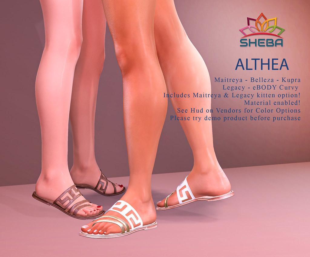 [Sheba] Althea Sandals available @Cosmopolitan Event