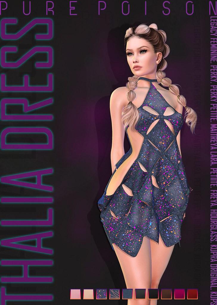 Pure Poison – Thalia Dress – Collabor88