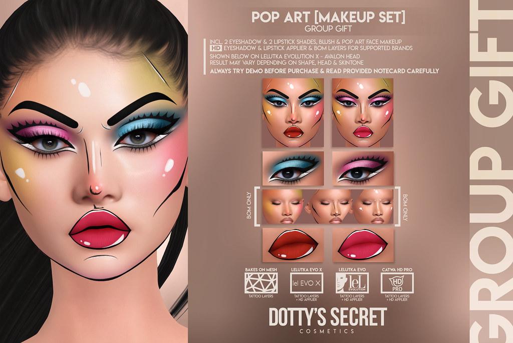 Dotty's Secret – Pop Art – Makeup Set [GROUP GIFT]
