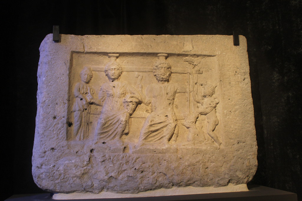 Relief of Pluto and Proserpina
