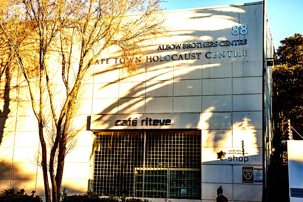 CAPE TOWN HOLOCAUST CENTRE on 8-10-21--Cape Town