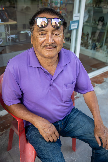 Shopkeeper-Cozumel, Mexico-121A0781