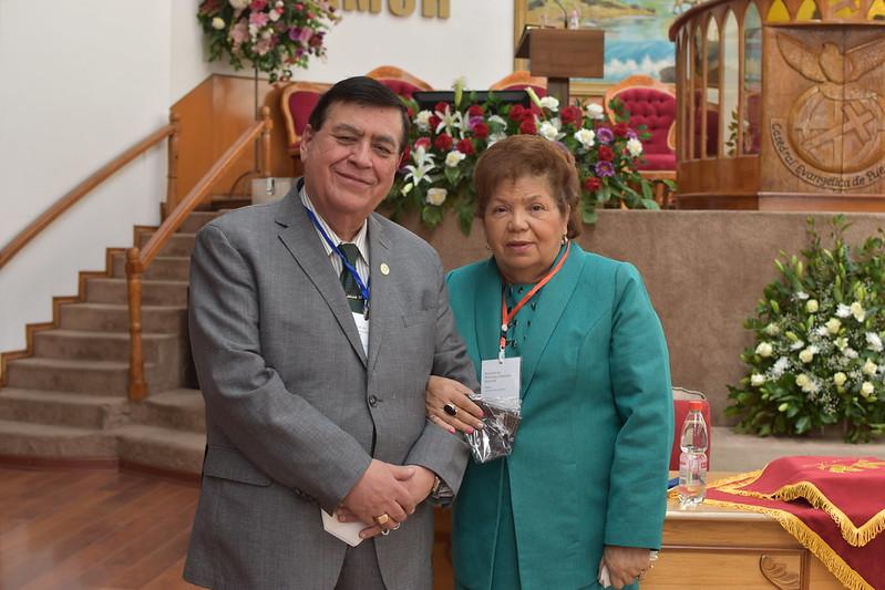 """""""Bendecidos por la gracia de Dios"""": Reunión de Pastores y Pastoras Sector 8"""