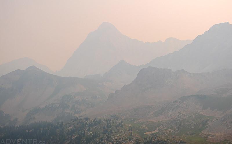 Capitol Peak in the Smoke