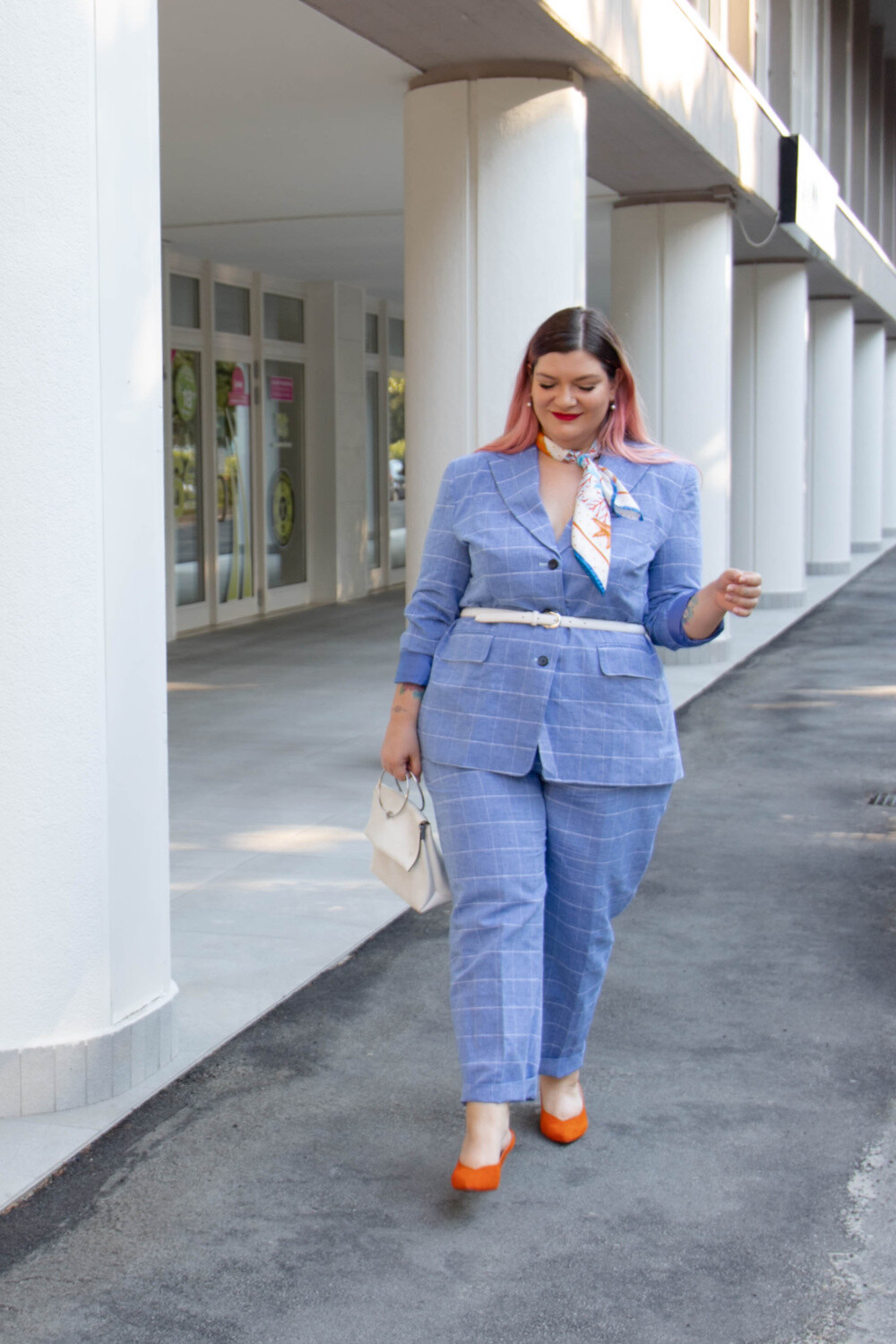 Outfit Curvy plus size completo sumissura recensione (2)