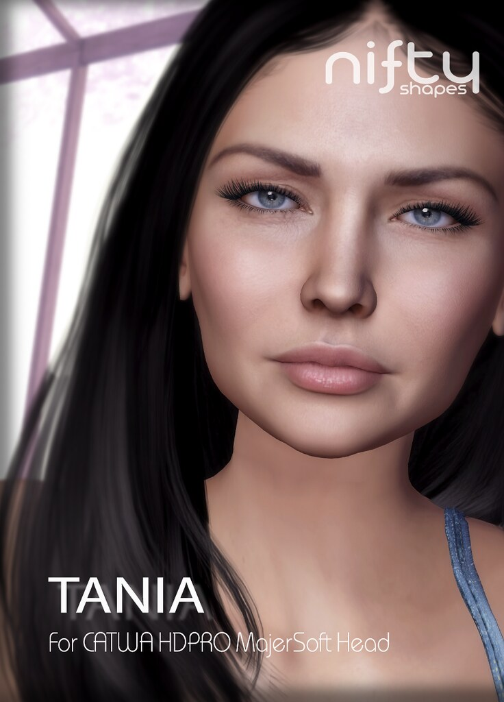 :NiFty: TANIA shape for CATWA HDPRO MajerSoft
