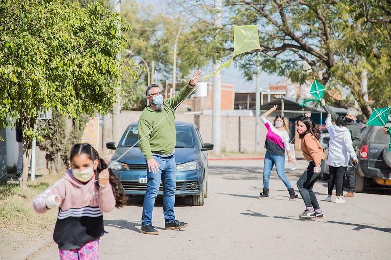 Niñas y niños dibujarán el cielo de Córdoba con barriletes de colores (7)