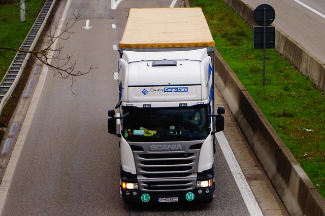 Scania R410 Euro6 Topline Streamline 6-Series 4x2 (2016) - ECC Romania & S.C. Mega Trucking SRL Timișoara, Romania (RO)