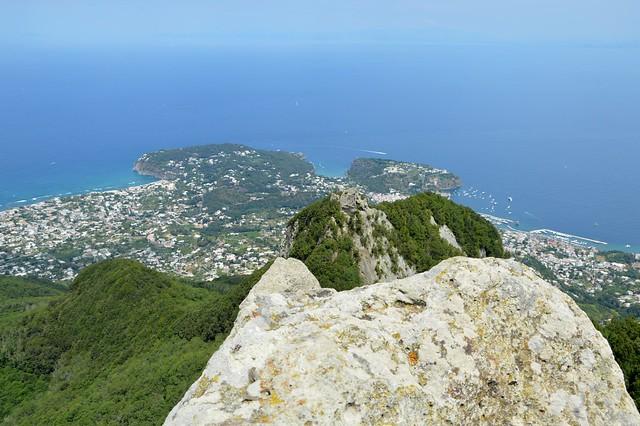Ischia, sulla vetta del Monte Epomeo: veduta su Forio e Lacco Ameno, Explore Aug 11, 2021 #333