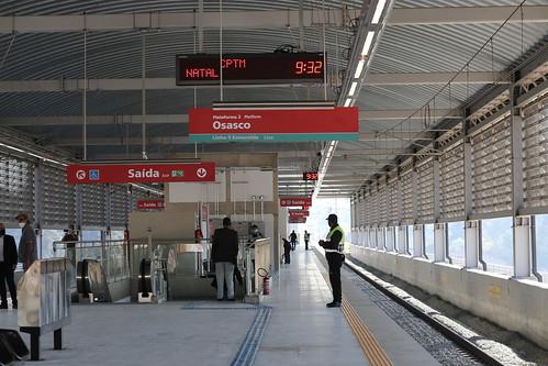 Inauguração da Estação Mendes-Vila Natal da Linha 9-Esmeralda da CPTM