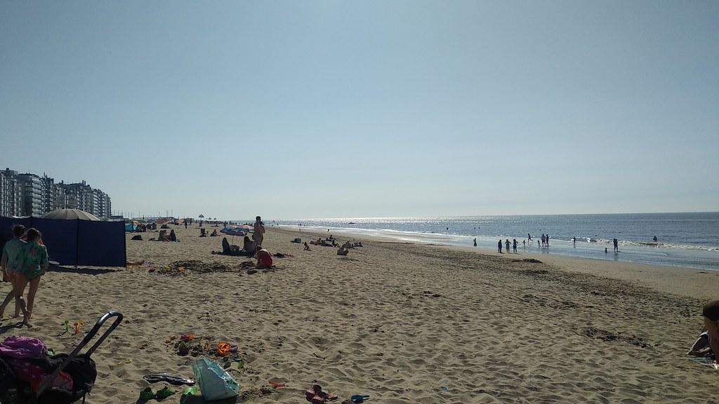 Playas de De Haan y Blankenberge