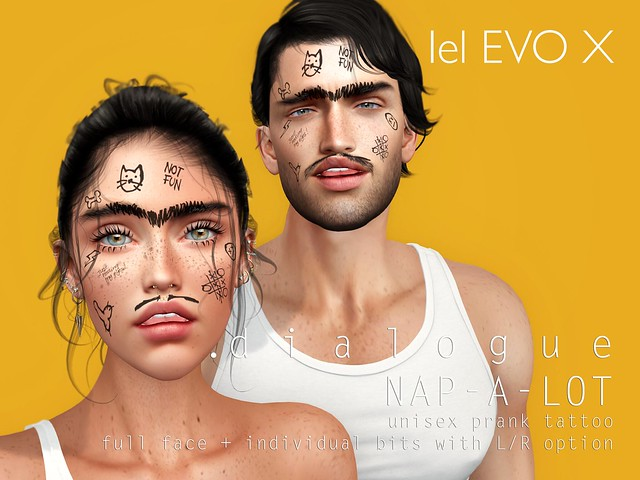NAP-A-LOT unisex prank tattoo @ JAIL EVENT
