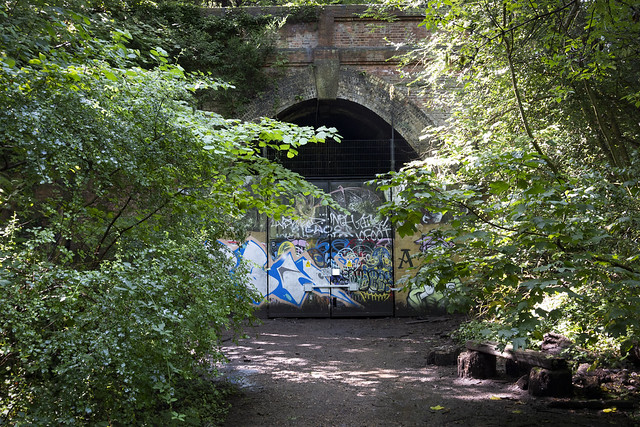 Sydenham Hill Woods Tunnel on the Long Defunct Crystal Palace and South London Junction Railway