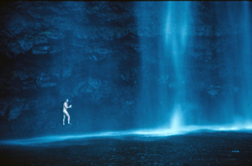 Under A Waterfall On Kauai