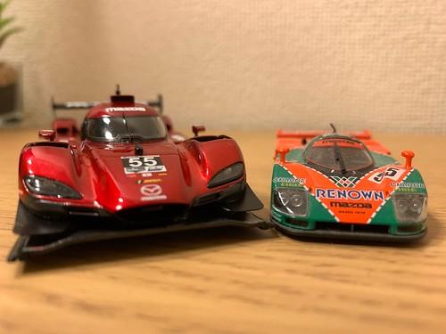 Mazda RT24-P and 787B