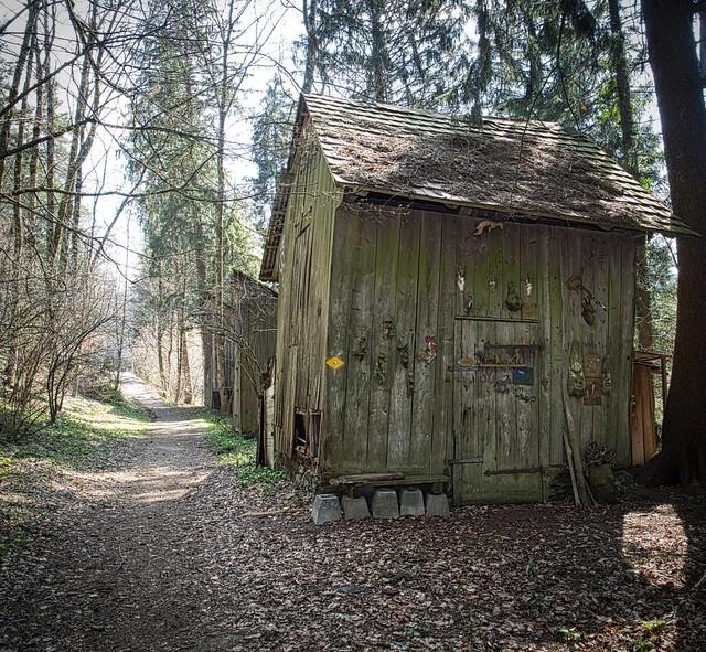 Streuhütten Enderholz  und Forenmoos 2021