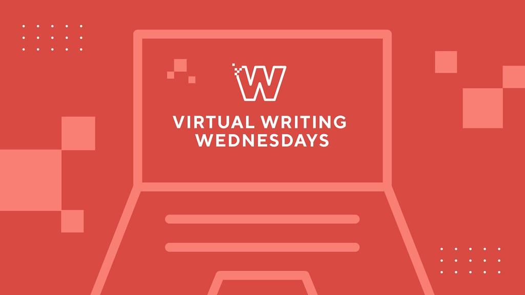 Virtual Writing Wednesday logo