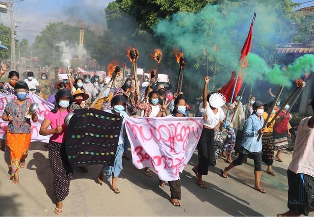 Moneywa women protest