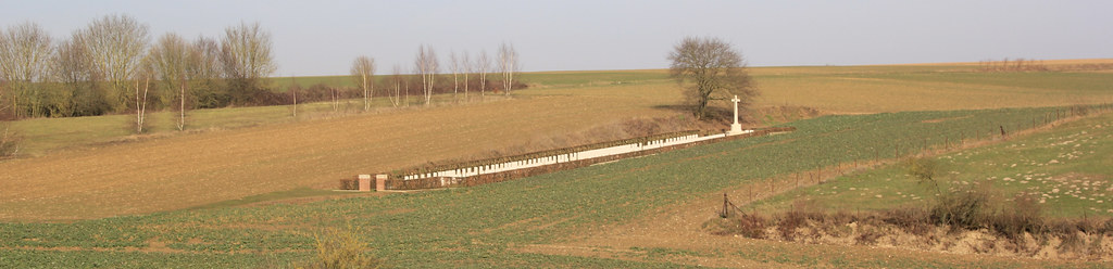 Walking The Somme, France, 2019. Beaumont Hamel British Cemetery