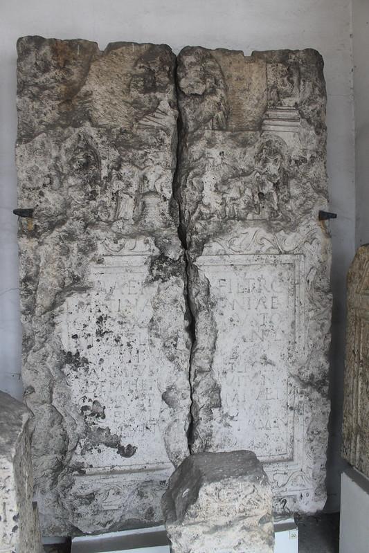 Funerary Monument of M. Baebius