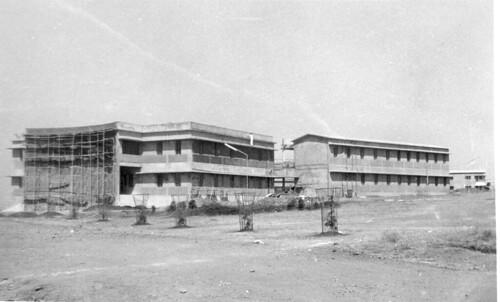 Union Biblical Seminary under construction 1983-85 Pune India