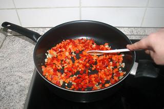 14 - Braise bell pepper / Paprika andünsten