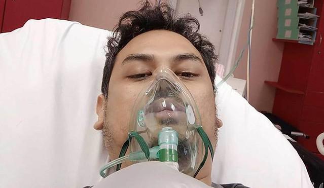 Selepas Siti Sarah, Abang Arwah, Ahmad Firdaus Positif Covid-19, Tahap Oksigen Menurun