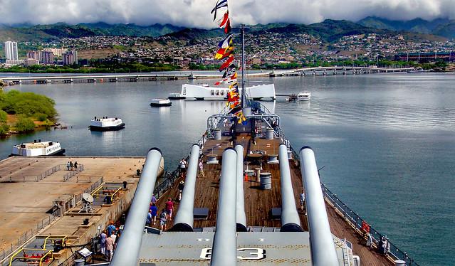 Pearl Harbor Hawaii.