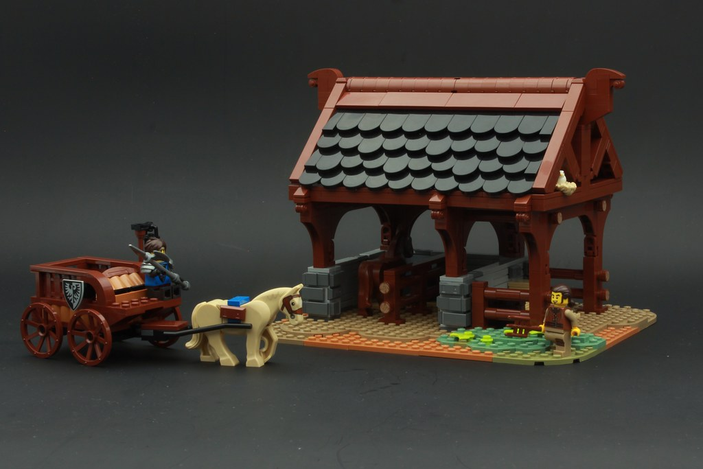 Medieval Horse Stable