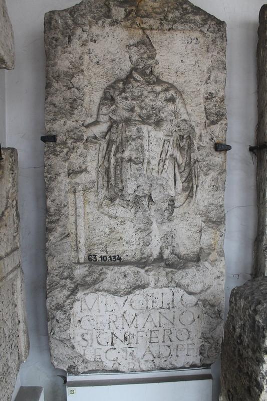 Funerary Monument of M. Lucillius Germanus