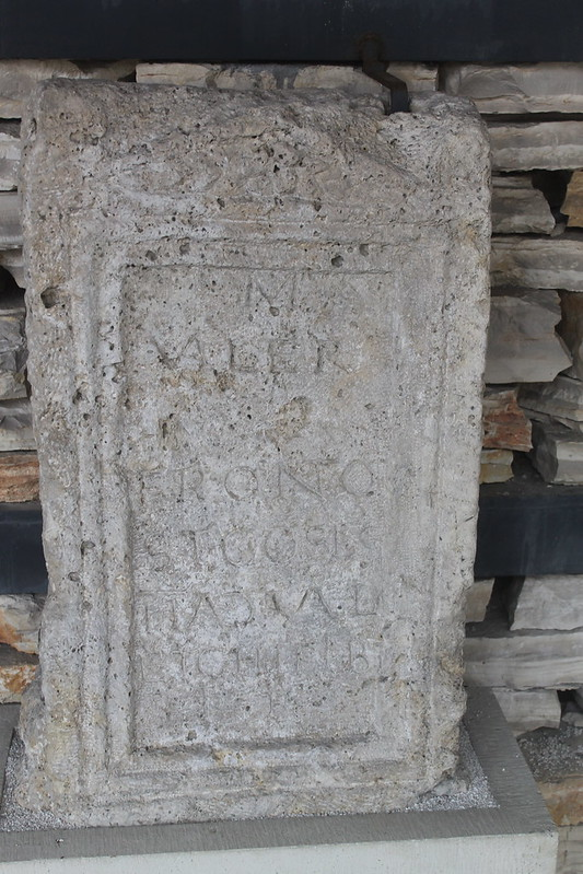 Funerary Monument of M. Valerius Fronto