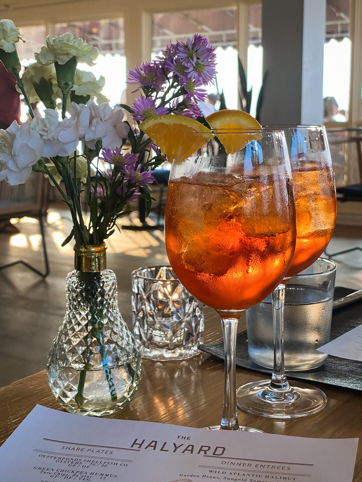 Halyard Restaurant   Aperol Spritz   Where to Eat in the North Fork, Long Island, NY   Best Restaurants on the North Fork   48 Hours on the North Fork, Long Island   The Perfect Weekend Itinerary   Best Things to Do on The North Fork   Explore Long Island New York   Weekend in North Fork, LI   North Fork, Long Island Travel Guide   Weekend Trip Out East   2 Days in the North Fork   Top Things to do in Long Island