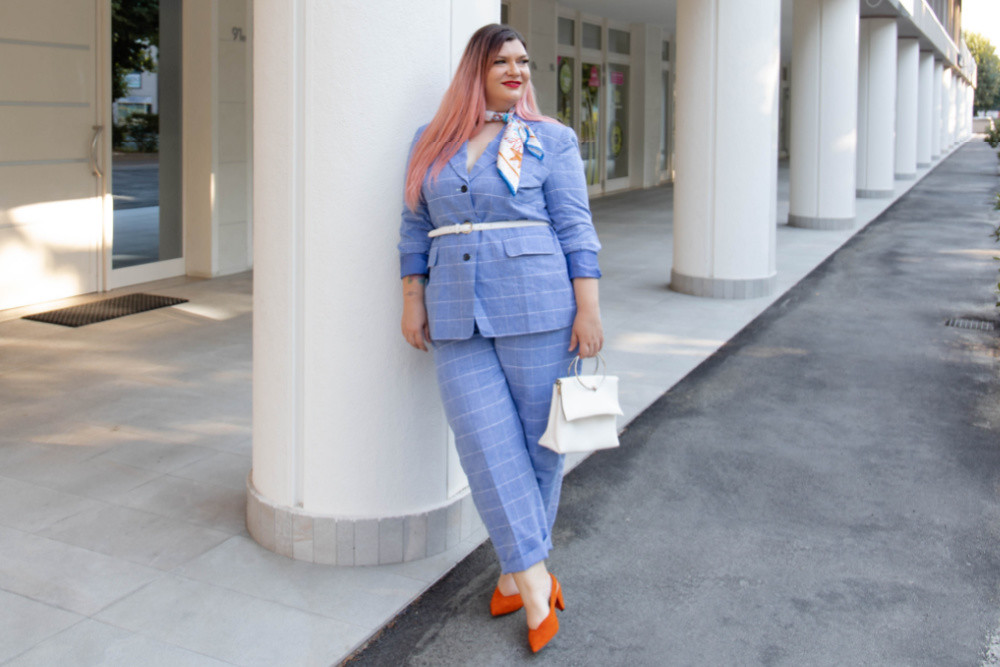 Outfit Curvy plus size completo sumissura recensione (8)