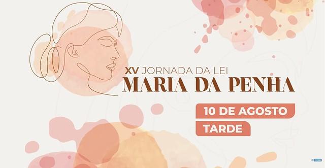 10/08/2021 XV Jornada Maria da Penha
