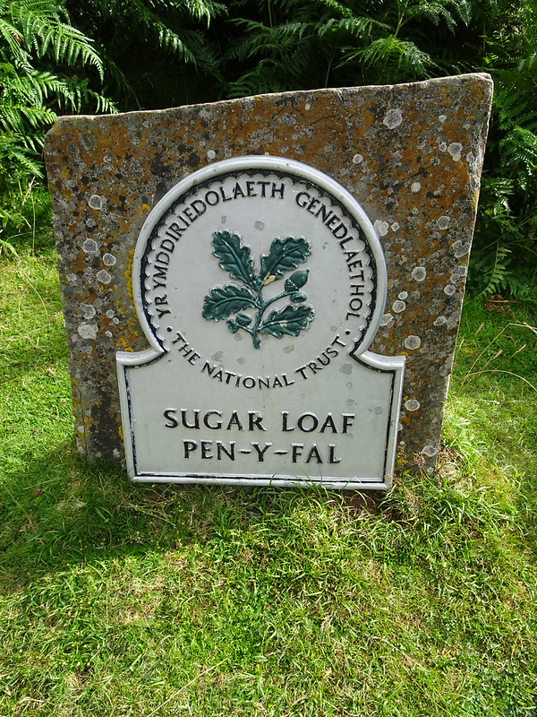 Sugar Loaf Circular: National Trust Omega Sign