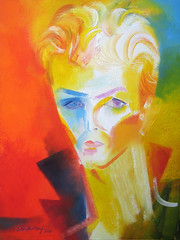 David Bowie - Lets Dance. 2021 by Stephen B. Whatley