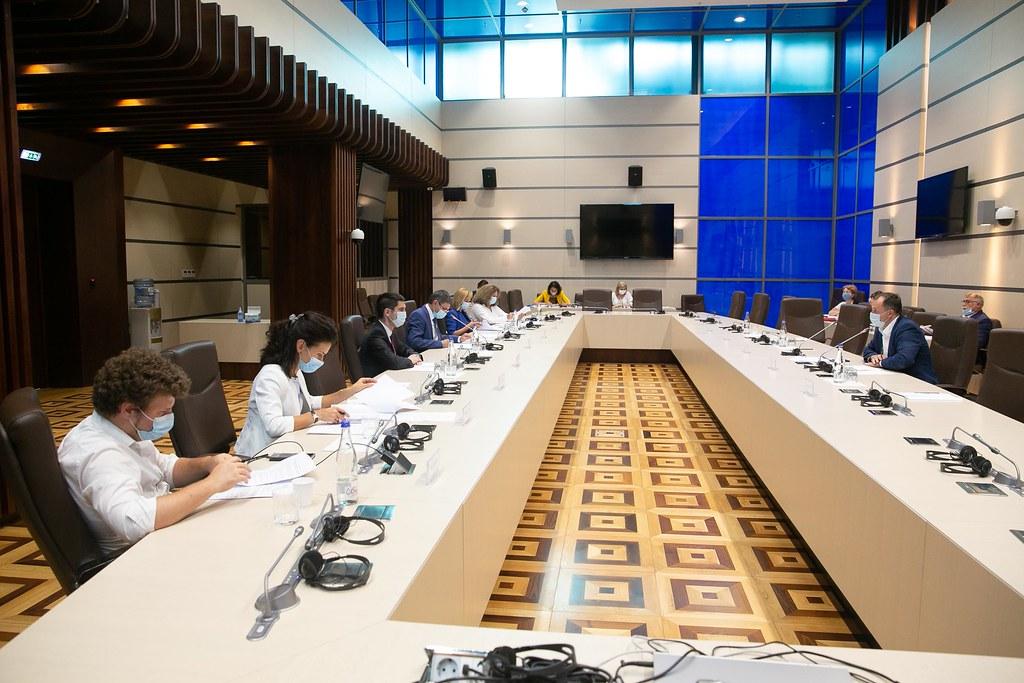 10.08.2021 Ședința Biroului permanent al Parlamentului