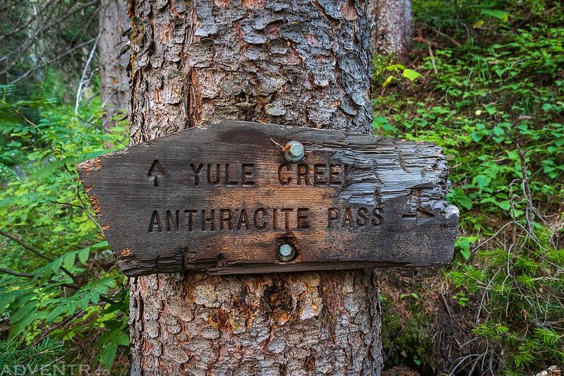 Old Yule Creek Sign