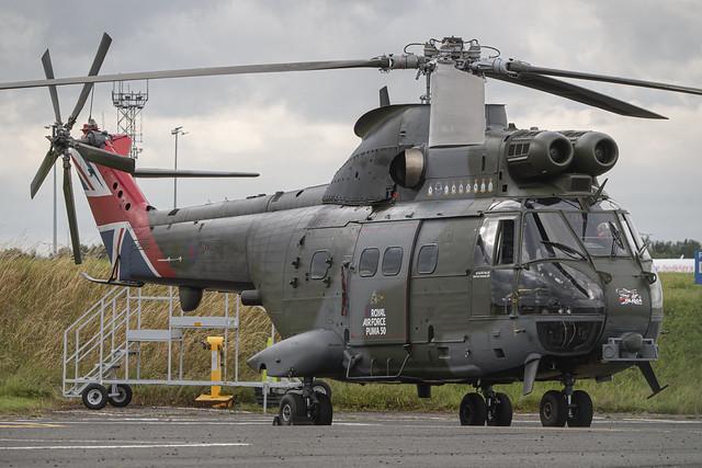 RAF Westland SA330E Puma HC2 XW224